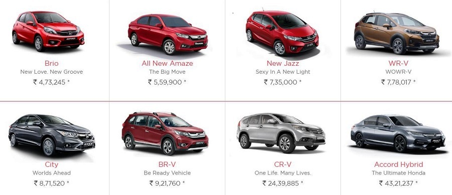 Honda City Cars And Pricelist