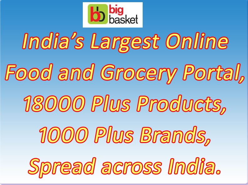 BigBasket.com - India's Largest Online Food and Grocery Business