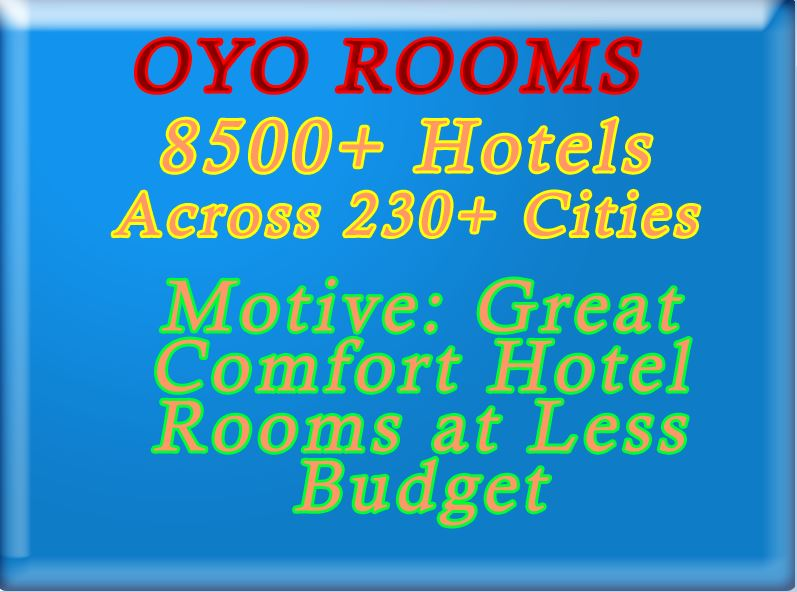 OYO Rooms Provides Best Hotel Rooms at Less Budget