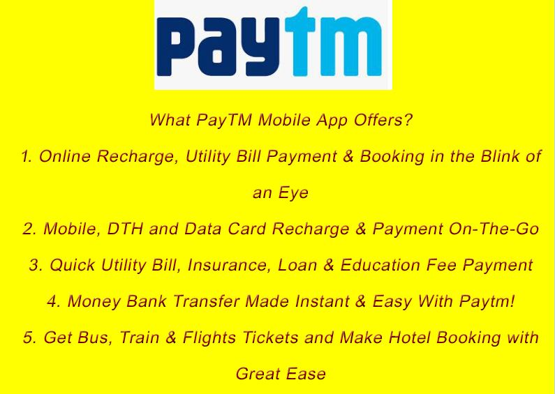 PayTM - Payment Mobile App