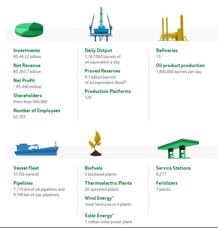 Petrobras Business Profile Details