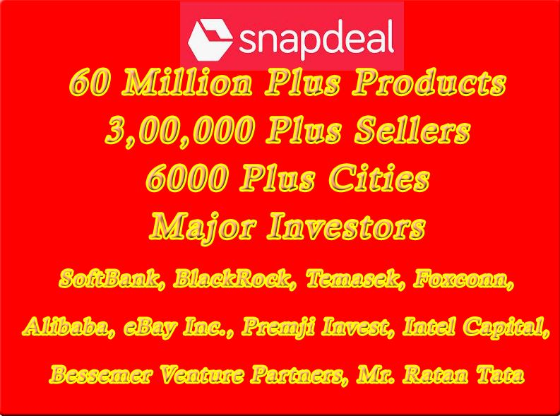 SnapDeal - Online eCommerce Startup Competitor to Flipkart