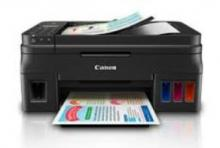 Canon Pixma G4000 Wireless All-in-One Color Inkjet Printer (Black)